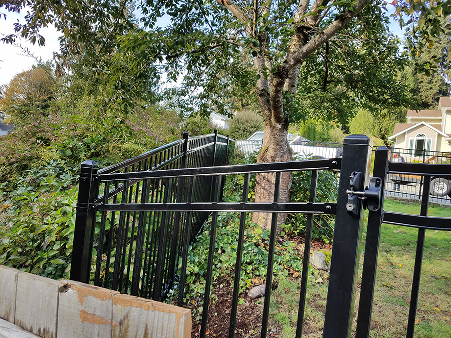 Wrought Iron Fence Installation Service Amp Repair Near Lake