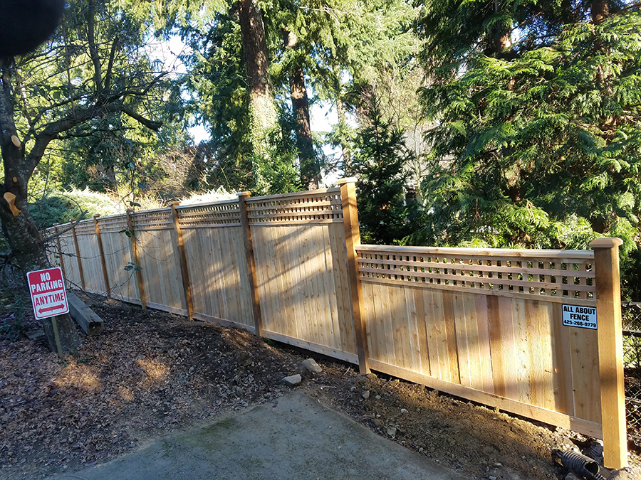 residential fence installation service & Repair in Bothell