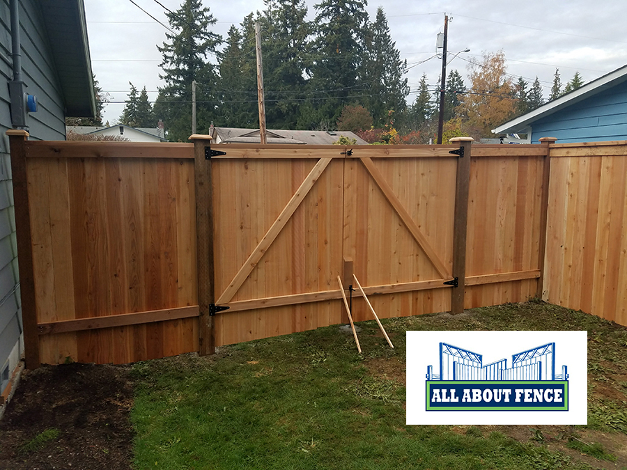 Wood Fences & Wooden Privacy Fence Installation near Snohomish