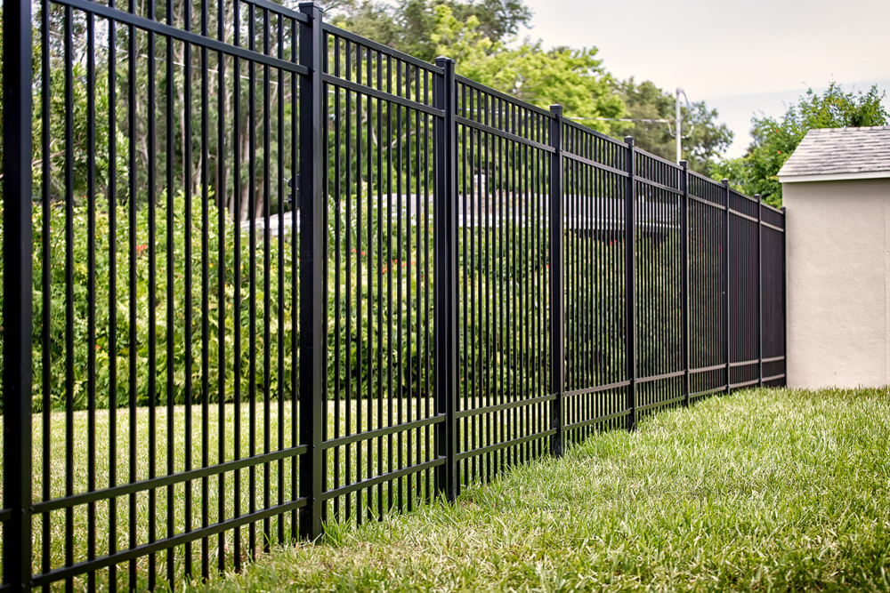 Call Us To Your Snohomish County Property For Aluminum Fence Installation Service & Repair