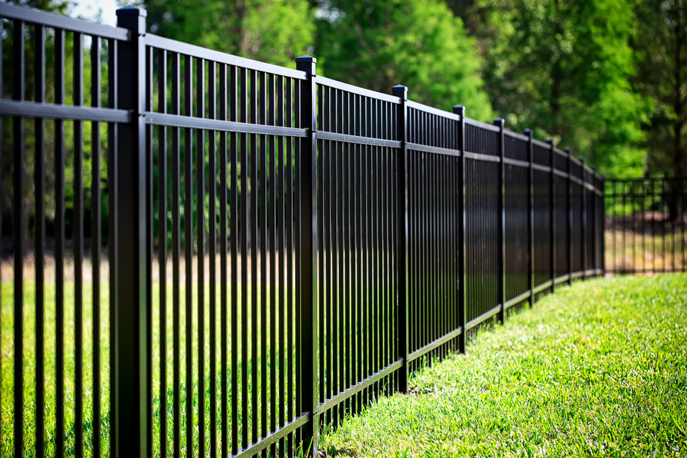 We Can Come To Your Snohomish County Property For Aluminum Fence Installation Service & Repair